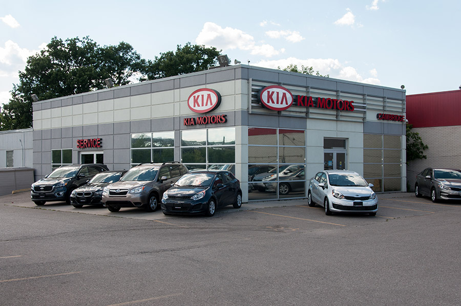 Cambridge Kia Dealership Holt Construction Services Ltd